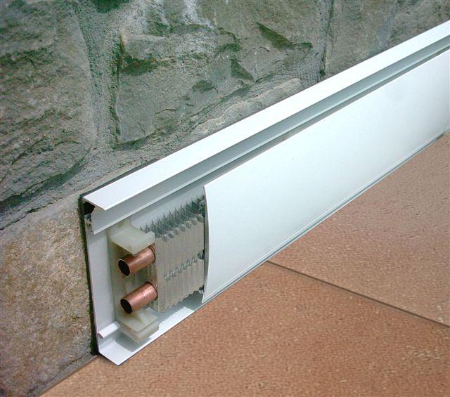 Rivoli luigi impianti di riscaldamento il battiscopa for Quali tubi utilizzare per l impianto idraulico